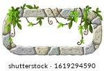 stone board decoration liana...   Shutterstock .eps vector #1619294590