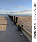 Bridlington Beach At Sunset....