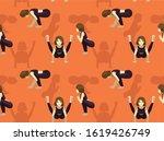 firefly pose yoga manga cartoon ...   Shutterstock .eps vector #1619426749