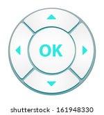 vector control button | Shutterstock .eps vector #161948330
