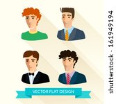 vector illustration of set of...