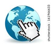 world wide web | Shutterstock .eps vector #161966633