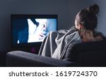 Scary Horror Movie On Tv....