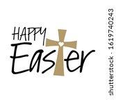 Christian Happy Easter Cross...