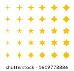 stars collection. yellow stars  ...