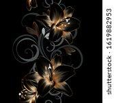 vintage luxury seamless floral... | Shutterstock .eps vector #1619882953