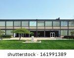 engineering 1 building at... | Shutterstock . vector #161991389