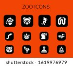 Modern Simple Set Of Zoo Vecto...
