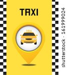 taxi background | Shutterstock .eps vector #161999024