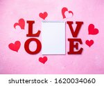 valentines day background with...   Shutterstock . vector #1620034060