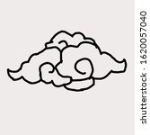 illustration graphic of cloud....   Shutterstock . vector #1620057040