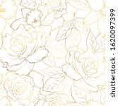 floral spring seamless pattern. ... | Shutterstock .eps vector #1620097399