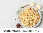 Italian Pasta Fettuccine With...