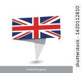 united kingdom country flag.... | Shutterstock .eps vector #1620112810