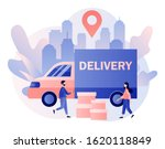 online delivery service concept.... | Shutterstock .eps vector #1620118849