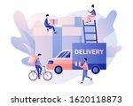 online delivery service concept.... | Shutterstock .eps vector #1620118873