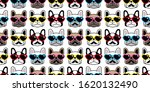 dog seamless pattern french... | Shutterstock .eps vector #1620132490