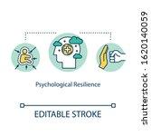 psychological resilience... | Shutterstock .eps vector #1620140059