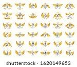 vintage weapon vector logos or... | Shutterstock .eps vector #1620149653