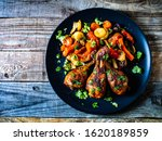 Barbecue Chicken Drumsticks...