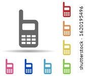 portable radio in multi color...