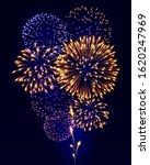colorful fireworks festival... | Shutterstock .eps vector #1620247969