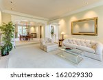 living room in a luxury house | Shutterstock . vector #162029330