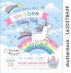 birthday party invitation card... | Shutterstock .eps vector #1620378439