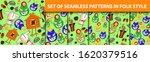 folk tale. a set of seamless... | Shutterstock .eps vector #1620379516