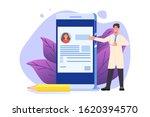 medical record  online doctor... | Shutterstock .eps vector #1620394570