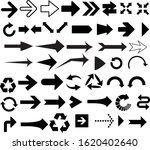 arrow pointer icons and signs | Shutterstock .eps vector #1620402640