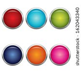 collection of vector color... | Shutterstock .eps vector #162043340