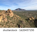 Superstition Mountains Near...