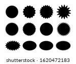 starburst stickers. black... | Shutterstock .eps vector #1620472183