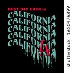 best day ever in california la...   Shutterstock .eps vector #1620476899