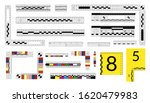 set of forensic rulers for... | Shutterstock .eps vector #1620479983