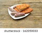 farmers breakfast | Shutterstock . vector #162050033
