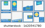 sale banner set. social media... | Shutterstock . vector #1620541780