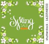 spring sale. seasonal offer...   Shutterstock .eps vector #1620548533