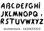 graffiti splash vector alphabet ... | Shutterstock .eps vector #1620653323