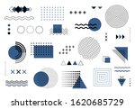 geometric abstract elements... | Shutterstock .eps vector #1620685729