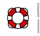 life buoy icon vector... | Shutterstock .eps vector #1620695323