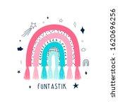rainbow and slogan illustration ...   Shutterstock .eps vector #1620696256