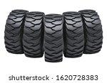 Solid Forklift Tires Or Truck...