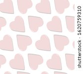 abstract pink heart seamless... | Shutterstock . vector #1620759310