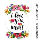 happy valentines day card with... | Shutterstock .eps vector #1620784039