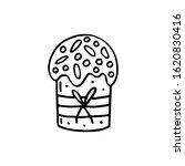 easter cake  bakery product ... | Shutterstock .eps vector #1620830416