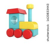 Colorful Children Wooden Toy...
