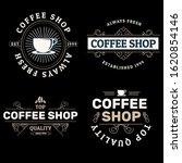 coffee shop logo collection ...   Shutterstock .eps vector #1620854146