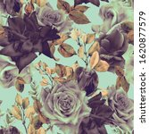 seamless floral pattern with...   Shutterstock . vector #1620877579